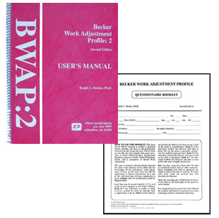 Becker Work Adjustment Profile - Complete Set (Second Edition)