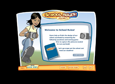 School Rules! Volume 1 Screen Shot 1